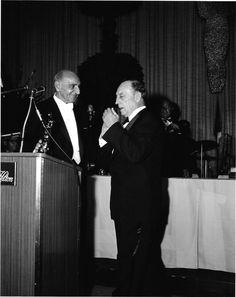 Buster receiving his Academy Award April 4, 1960