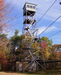 Oak Hill fire tower, Loudon/Concord, NH