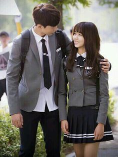 Drama Korea, Korean Drama, High School Love Story, Who Are You School 2015, Hyun Soo, Kim Sohyun, Ulzzang Korean Girl, Joo Hyuk, Yook Sungjae