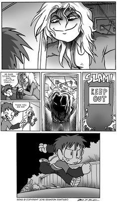 Erma :: Erma- The Rats in the School Walls Part 18 | Tapas Comics - image 2