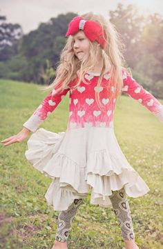 Paper+Wings+Vintage+Hearts+Legging  4+to+12+Years  Now+in+Stock