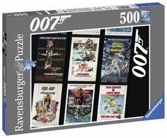#puzzle James Bond películas hasta #Spectre #Puzzlemania 500 piezas