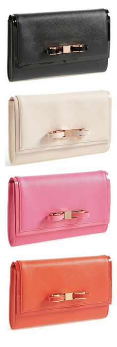 Darling bow clutch - on sale for $79.90!  #nsale http://rstyle.me/n/mkijmnyg6