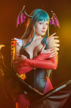 Darkstalkers:The Night Warriors -Morrigan Aensland by Zyaaa.deviantart.com on @deviantART