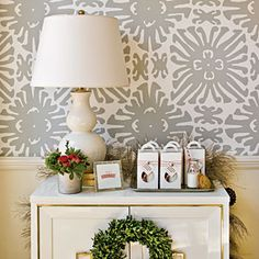 Beautiful Wallpaper Ideas | Ritzy Backdrop | SouthernLiving.com