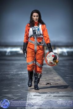 Jaina Solo (X-Wing Pilot), Cosplay by: Shea Standefer - Imgur