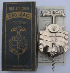 French Zig Zag Tire Bouchon Corkscrew @ Today's Treasure by Jen