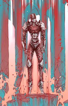 the crimson king by KurkoBoltsi.deviantart.com on @DeviantArt