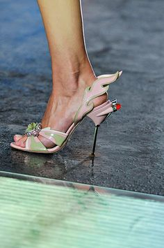 Prada Spring 2012 - Now these are couture shoes I can get excited about!