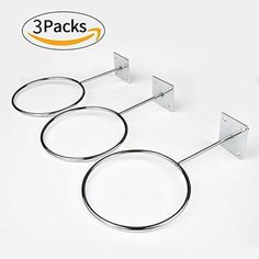 Buy Caifede 3 pcs Wall Mount Sports Ball Holder Organizer Storage For Basketballs, Volleyballs, Soccer Balls Display at Discounted Prices ✓ FREE DELIVERY possible on eligible purchases. Basketball Wall, Soccer, Basketball Socks, Volleyball Room, Volleyball Workouts, Sports Memorabilia Display, Boy Sports Bedroom, Kids Bedroom, Trophy Display
