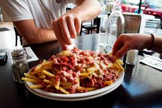 Pastrami Cheese Fries from Kenny and Zuke's in Portland, Oregon