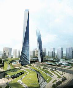 Southern Island of Creativity by Chengdu Urban Design Research Center (Liu Gang, Zhang Yang, Yu Jia, Lan Mi, and Xu Xin) / China
