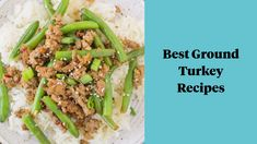These are the Best Ground Turkey Recipes! No matter what diet you follow (whole30, paleo, keto) these healthy turkey recipes are great are easy to make and perfect for dinner! Ground turkey burgers, ground turkey meatloaf and ground turkey meatballs - there's something for everyone! Ground Turkey Lettuce Wraps, Ground Turkey Burgers, Ground Turkey Meatloaf, Ground Turkey Meatballs, Greek Turkey Burgers, Best Ground Turkey Recipes, Healthy Turkey Recipes, Healthy Ground Turkey, Turkey Burger Recipes