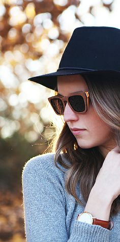 Brown Wood Sunglasses #womensfashion #sunglasses #style