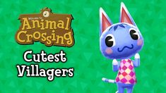 The 25 Cutest Animal Crossing Villagers Animal Crossing Villagers, Video Games, Addiction, Cute Animals, Fan, Christmas Ornaments, Holiday Decor, Pictures, Ideas