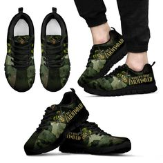 Worlds Best Army Dad Sneakers