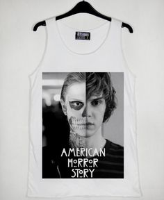 American Horror Story Skull Tate Unisex Tank Top Available Size S M L XL XXL XXXL For Men and Women Adult //Price: $18.15 & FREE Shipping //     #gift shirts