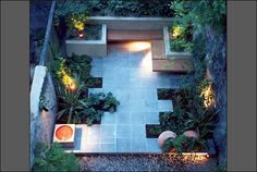 A contemporary garden is really popular amongst young homeowners. Low maintenance, but high quality, the defining lines, containers, repeating plants and flowers, and sharp edges really make this type of garden very popular.