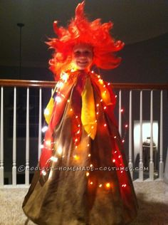 I realize this is for a child, but some year I will dress up as a volcano for Halloween.