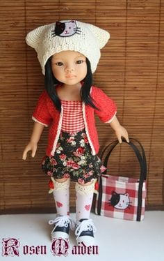 "Fruits style and ""Stylish doll"" contest | R&M DOLLFASHION / Paola Reina dolls"