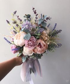 Prom Flowers, Fake Flowers, Flower Bouquet Wedding, Bride Bouquets, Bridal Flowers, Plum Wedding Flowers, Purple Wedding, Purple Flower Bouquet, Purple And White Flowers