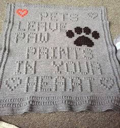 http://www.ravelry.com/patterns/library/dog-blanket-5