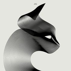 https://www.behance.net/gallery/28268739/Animals-in-Moir-3-two-lines