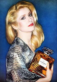 Comparing old Chanel ads to the latest campaign gives weight to the claim. Catherine Deneuve, Chanel No5 Ad,1977.