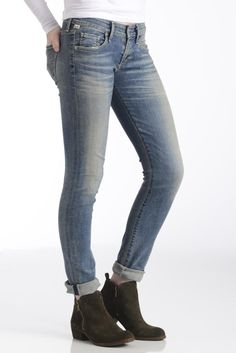 Citizens of Humanity Racer in Miramar Low Rise Skinny Jean | South Moon Under