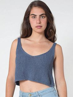 Knitted Crop Tank