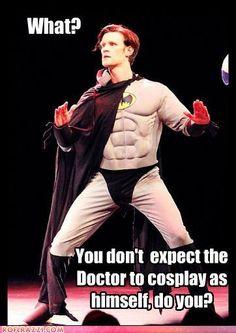 Dr Who is Batman