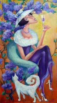 Lilacs... (170 pieces)