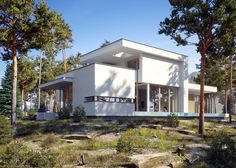 查看此 @Behance 项目: \u201cHouse in the woods\u201d https://www.behance.net/gallery/49724753/House-in-the-woods