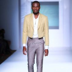 An antithesis of Beautiful pastel colourways on menswear from Designer @Kelechiodu presented at @lfdw2012 this week Soft slightly effeminate but sexy and gorgeous gotta love Photos by Insigna