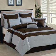 Luxury Home Ileana 8 Piece Comforter Set