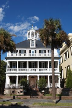 John Ashe House, South Battery, Charleston, South Carolina