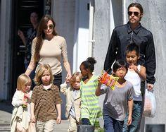 Brad Pitt y Angelina Jolie acuerdan proteger intimidad de sus hijos durante el proceso legal que llevan