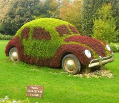 vw yard art