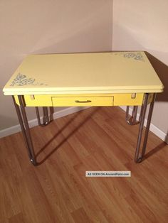 image result for 1940 u0027s kitchen tables a real fun 1930s drop leaf enamel table just looking for the right      rh   pinterest co uk