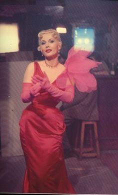Zsa Zsa Gabor wore Elsa Schiaparelli in Moulin Rouge