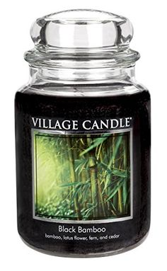 Introducing Village Candle Black Bamboo 26 oz Glass Jar Scented Candle Large. Get Your Ladies Products Here and follow us for more updates!