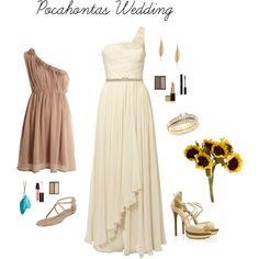 """Pocahontas Wedding"" by knhubbard on Polyvore"