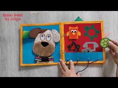 Quiet Book for Nikol (without felt) Felt, Youtube, Books, Livros, Feltro, Book, Libros, Book Illustrations, Youtubers