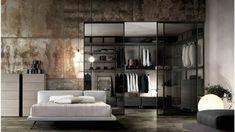 World Of Interiors, Walk In Closet, Sliding Doors, Oversized Mirror, House Design, Interior Design, Architecture, Furniture, Houses