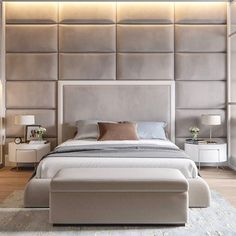 Modern Bedroom Interior Design Inspirational Contemporary Elegant & Cosy Home Design Project In Ukraine Master Bedroom Design, Home Bedroom, Bedroom Furniture, Bedroom Decor, Bedroom Ideas, Master Bedrooms, Bedroom Designs, Bed Designs, Furniture Sets