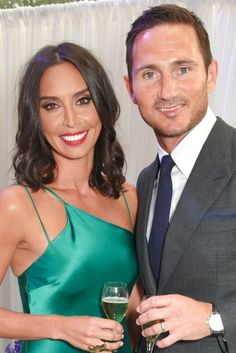 In at the Pride of Britain Awards, sparks flew between TV presenter Christine Bleakley and footballer Frank Lampard. Christine Bleakley, Pride Of Britain, Tv Presenters, Perfect Couple, Popsugar, Soccer, Joy, Football, Couple Photos