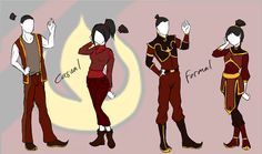 Mordern Fire Nation Style (For My Fanfiction) by DropDeadThenDance on DeviantArt