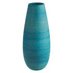 TURK Blue ceramic vase | Buy now at Habitat UK