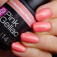 Pink Gellac 159 Glamorous Peach Gel-Nagellack via pinkgellac.de