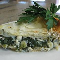 Spanakopita (Greek Spinach Pie) Allrecipes.com
